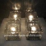 Lampe à énergie solaire de bloc avec la forme carrée