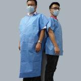 De ultrasone niet Geweven Medische Toga die van het Patroon van het Kostuum Machine maken