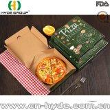 Caja de embalaje aislada 7 pulgadas de la pizza del cartón con la impresión modificada para requisitos particulares