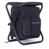 3 en 1 Enfriador de mochila de viaje exterior Silla para Camping Pesca de playa