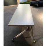 قابل للنقل 2 [ستر] تدريب طاولة مع قابل للتراكم معدنة قاعدة
