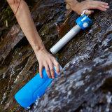 Peso leggero 1 L bottiglia di acqua liquida del campione libero del filtrante di corsa del silicone