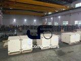 Compresseur d'air électrique stationnaire industriel de vis avec le réservoir d'air
