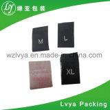 Escritura de la etiqueta tejida bolso, hecha del tafetán, de alta calidad