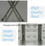 HDPE Qualitäts-Stahlfalz-Stuhl-im Freien bequemer Stuhl