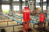 Linha-Eixo elétrico bomba de incêndio vertical pendida sobre da turbina