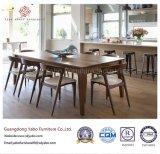 رشيق مطعم أثاث لازم مع خشبيّة مطعم كرسي تثبيت ([يب-وس-33])