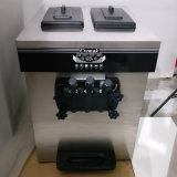 Edelstahl-Tisch-verwendete weiche Eiscreme-Spitzenmaschine mit 3 Aromen
