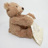 Brinquedos a pilhas do luxuoso do urso peekaboo