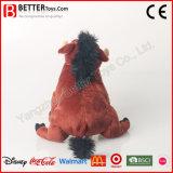견면 벨벳 Warthog 박제 동물 아이 아이들을%s 연약한 돼지 장난감