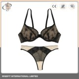 Customized respirável Jacquard Sexy Lingerie de Nylon