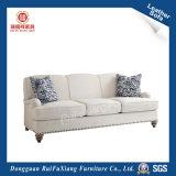 Tissu canapé avec motif blanc (N362)