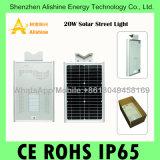 Солнечный свет датчика СИД напольный для уличного света Al-X20