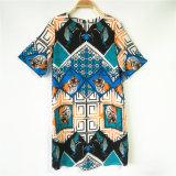 Vestito tessuto stampa da Digitahi delle donne
