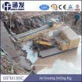 Fondation d'ingénierie hydraulique sur chenilles de la machine de forage pour la cimentation Jet