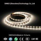 A fábrica 100% passou o Ce, RoHS, FCC, tira 5630 do diodo emissor de luz de 72LEDs 9-10lm/35-40lm/LED 12With30W/M