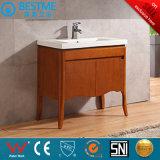 Цельной древесины красного цвета в ванной комнате ванная комната мебель по-X7082
