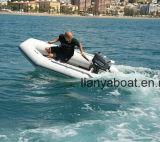 Canot automobile en caoutchouc de la Chine de bateaux gonflables bon marché de PVC de Liya