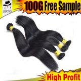 ブラジルのバルク毛100%の加工されていないヘアケア製品
