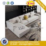 2 Lugares a cor branca Sala sofá de couro (HX-8NR2271)