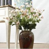 Il crisantemo di seta fiorisce i fiori all'ingrosso che Wedding il Gerbera dentellare artificiale del fornitore della Cina del mazzo