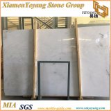 フロアーリングのための白い大理石か白いBookmatchの大理石またはCastrowhiteまたは白い大理石のタイル