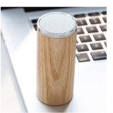 2017 대중적인 소형 휴대용 실린더 나무로 되는 스피커 상자 무선 Bluetooth 스피커