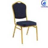 熱い販売の会議室の使用のための椅子をスタックする現代家具のホテルの結婚式の鉄
