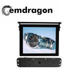17 Zoll die Spieler-Note bekanntmachend, die Bildschirmanzeige-Schlussteil-Bus-DigitalSignage LCD-Anzeigen-Spieler bekanntmacht