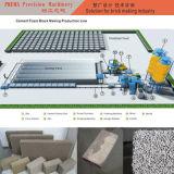 Machine de fabrication de brique concrète de mousse avec la chaîne de production automatique de brique modèle