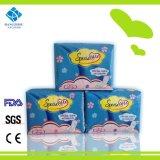 280mm maxi féminin régulier serviette hygiénique pour utilisation en temps de nuit