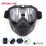 Отделяемые стекла ветер Motocross и маска изумлённых взглядов мотоцикла доказательства пыли