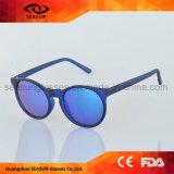 Leichter Massenmann-Dame-Spiegel rote Avaitor runde Mode-Sonnenbrillen