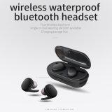 A verdadeira fábrica Tws auriculares auscultadores estéreo sem fios com estojo de carregamento