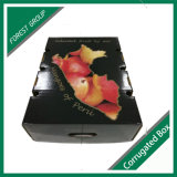 フルーツの上および底様式の波形の荷箱