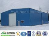 Fabricado en China de la casa de estructura de acero prefabricada almacén taller
