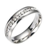 Gouden Ring van de Gift van de Diamanten bruiloft van de Juwelen van CZ de Nieuwe