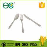 Beschikbaar Plastic Biologisch afbreekbaar Bestek, Maïszetmeel Spork