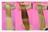 方法毛のブラウンカラーインドのバージンの毛100%の人間の毛髪