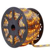 Indicatore luminoso rotondo della corda della decorazione LED di prezzi poco costosi 220V 100m di alta qualità