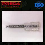 2/3 Karbid-Aluminiumenden-Tausendstel der Flöte-HRC50