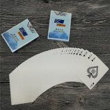 Kundenspezifische glatte lackierte bekanntmachende Papierspielkarten