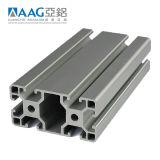 T-Perfil de alumínio estrutural Ranhurado