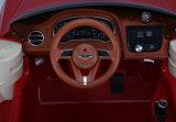 Bentley a autorisé la conduite électrique de gosses sur le jouet de véhicule
