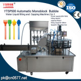 Bulle monobloc automatique d'eau liquide Machine de remplissage pour tube long
