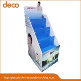 Papierfußboden-Bildschirmanzeige-gewölbtes Bildschirmanzeige-Regal für Einzelverkauf