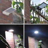 Sensor Drie van de Lichten van de kleur Regelbare Zonne Waterdichte Verlichting van de Straat van de Tuin van de Muur van de Motie Wijzen 48 leiden de Openlucht