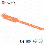 耐久財アクセス制御のための調節可能なPVC RFIDブレスレット