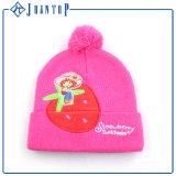 Cappello personalizzato del Beanie del cavo del reticolo del Knit di modo