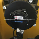 Máquina cortando vincando do rolo automático de alta velocidade